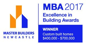 The Master Builders Association Newcastle Excellence in Building Awards for best Custom Built Home $400,000 to $700,000 was awarded to Pycon Homes. This was for the Roberts' residence in Thrumster.