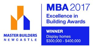 "The Master Builders Association Newcastle Excellence in Building Awards for best Display Home $300,000 to $400,000 was awarded to Pycon Homes. This was for the ""Sapphire"" design at the Sovereign Hills Display Village in Port Macquarie."