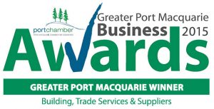 Pycon Homes is the proud winner of the 2015 Greater Port Macquarie Business Awards – Building, Trade Services & Suppliers