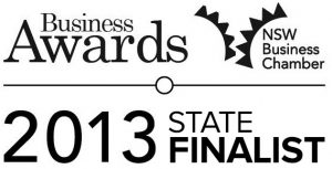 Pycon was awarded a position as State finalist for the 2013 NSW Business Chamber Excellence in Small Business award.