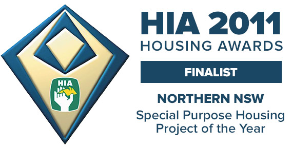 Housing Industry Association Special Purpose Housing Project of the Year Award Finalists for 2011