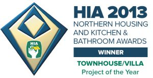 The Housing Industry Association Northern NSW Townhouse/villa development project of the year award goes to Pycon Homes!